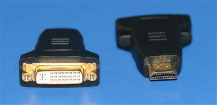 DVI - HDMI Adapter Female-Male